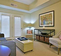 independent living living room